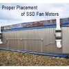 Proper Placement Of SDD Fan Motor