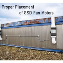 Proper Placement Of SDD Fan Motor