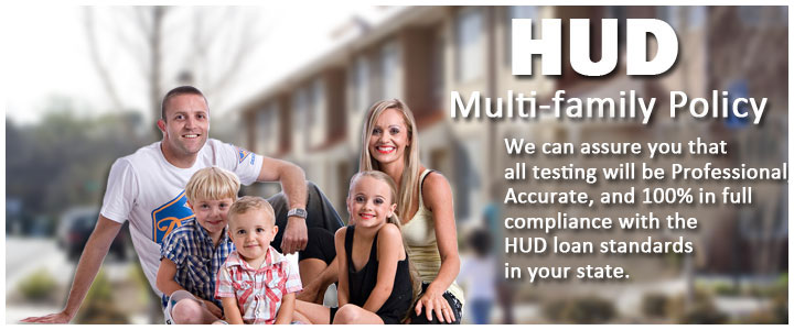 Multifamily radon testing